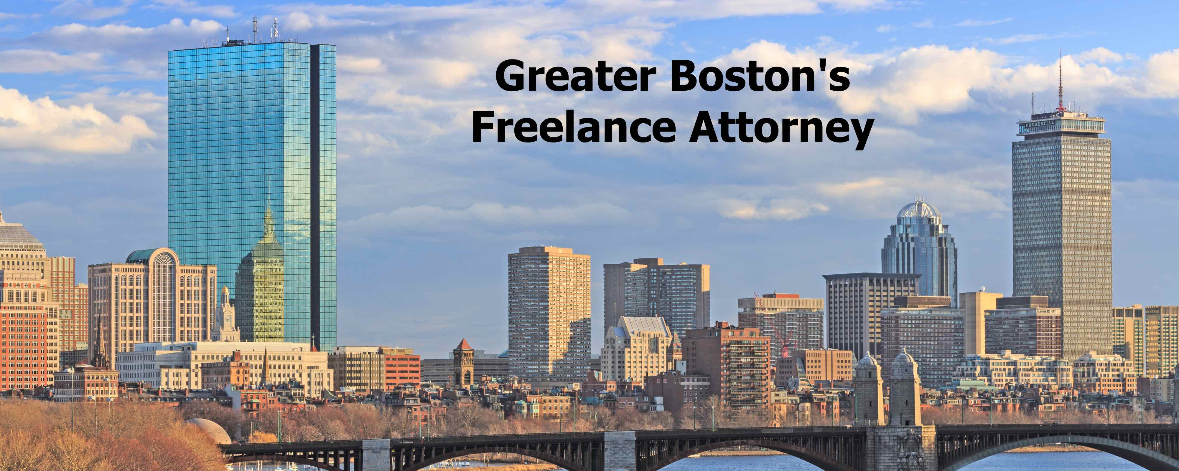 Greater Boston's Freelance Attorney