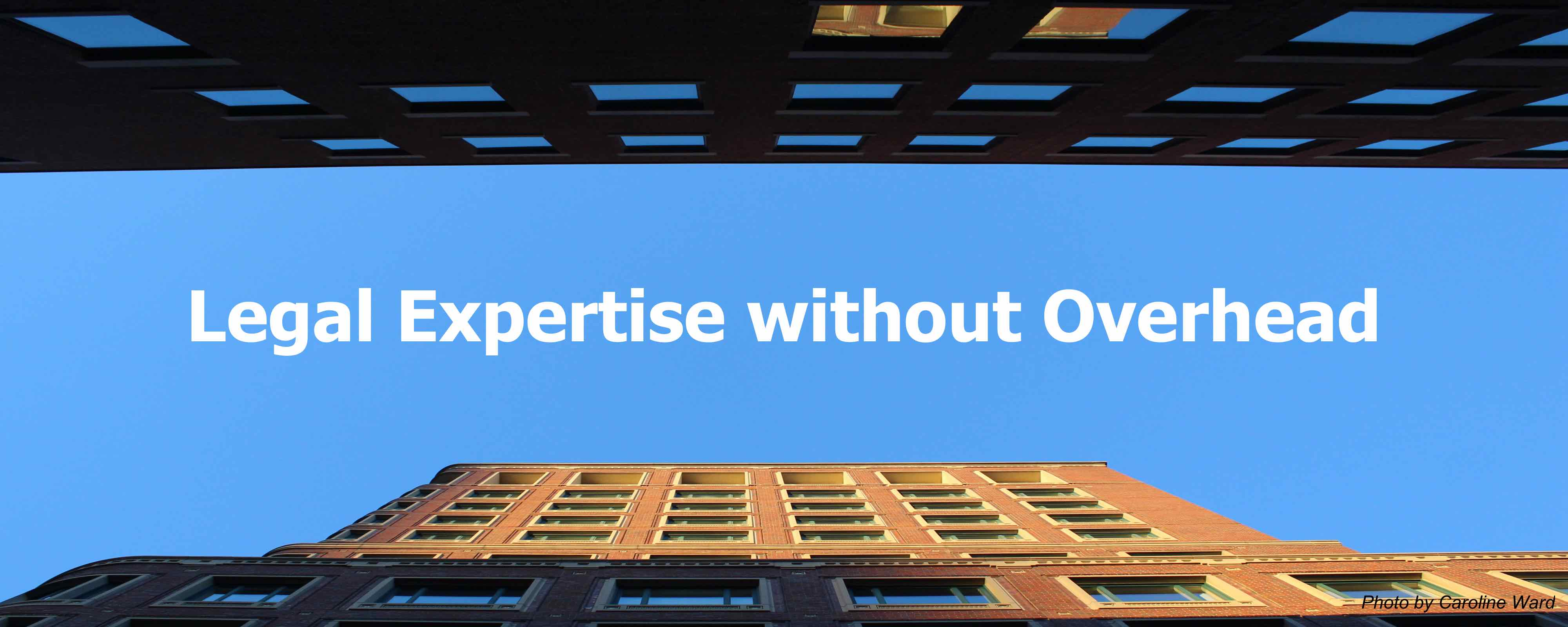 Legal Expertise without Overhead